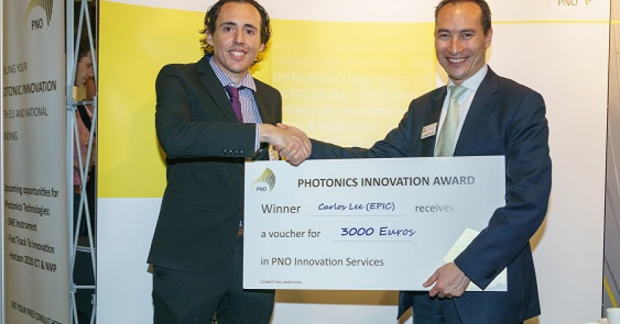 EPIC wint photonics innovation award